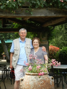 Mom and Dad in Italy, Summer 2014