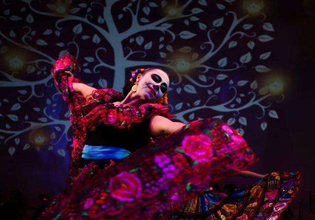 Dia de los Muertos Dancer